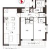 2LDK Apartment to Buy in Shinagawa-ku Floorplan