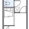 1K Apartment to Rent in Fukuoka-shi Jonan-ku Floorplan