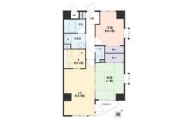 2LDK Apartment in Sakuraguchicho - Kobe-shi Nada-ku