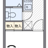 1K Apartment to Rent in Edogawa-ku Floorplan