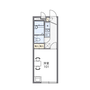 1K Apartment in Matsue - Edogawa-ku Floorplan