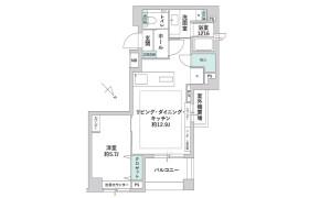 1LDK {building type} in Higashioi - Shinagawa-ku