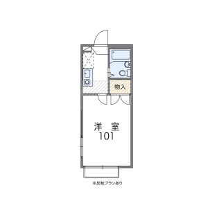 1K Apartment in Matsubara - Setagaya-ku Floorplan