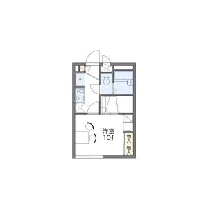 1K Apartment in Nagaodaicho - Yokohama-shi Sakae-ku Floorplan