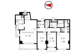 3LDK Apartment in Azabujuban - Minato-ku