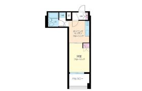 港区 - 南麻布 公寓 1DK
