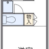 1K Apartment to Rent in Chofu-shi Floorplan