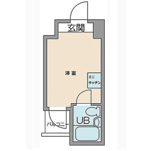 1R Mansion in Oi - Shinagawa-ku Floorplan