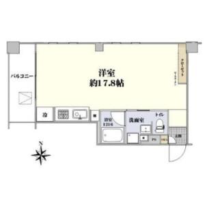 1R Apartment in Jingumae - Shibuya-ku Floorplan