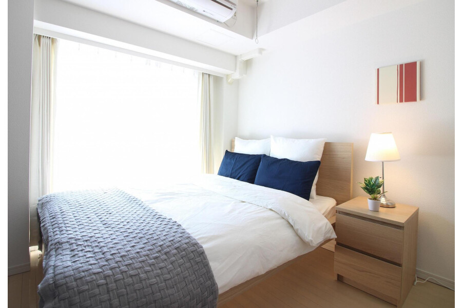 1K Apartment to Rent in Shibuya-ku Bedroom