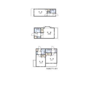 1K Apartment in Amanuma - Suginami-ku Floorplan