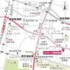 3LDK Apartment to Rent in Shinjuku-ku Map
