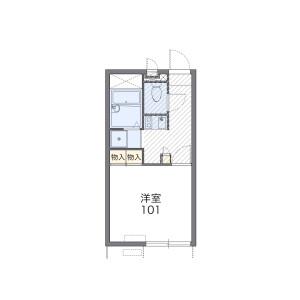 1K Apartment in Yaho - Kunitachi-shi Floorplan
