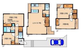 4LDK House in Ookayama - Meguro-ku