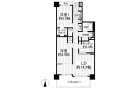 2LDK Apartment in Okazucho - Yokohama-shi Izumi-ku