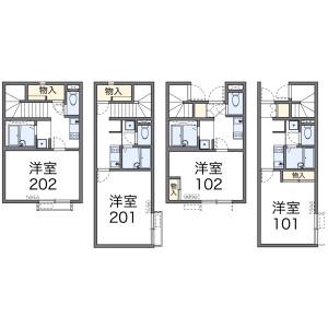 1K Apartment in Tokiwadai - Itabashi-ku Floorplan
