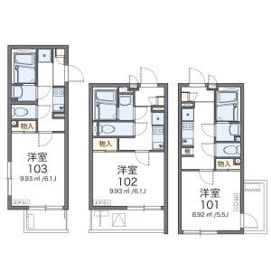 1K Mansion in Nishimagome - Ota-ku Floorplan