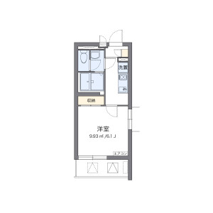 1K Mansion in Togoshi - Shinagawa-ku Floorplan