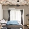 在大阪市北區內租賃1R 服務式公寓 的房產 臥室