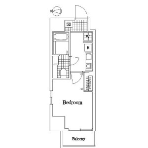 1K Mansion in Takashimadaira - Itabashi-ku Floorplan