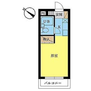 1R Mansion in Takasago - Katsushika-ku Floorplan