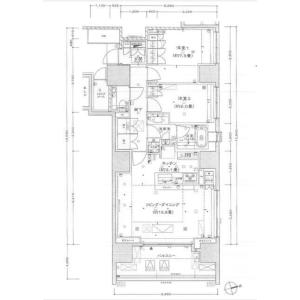 2LDK Mansion in Shinjuku - Shinjuku-ku Floorplan