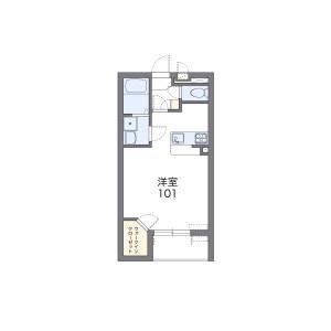 1K Mansion in Sumireno - Konosu-shi Floorplan