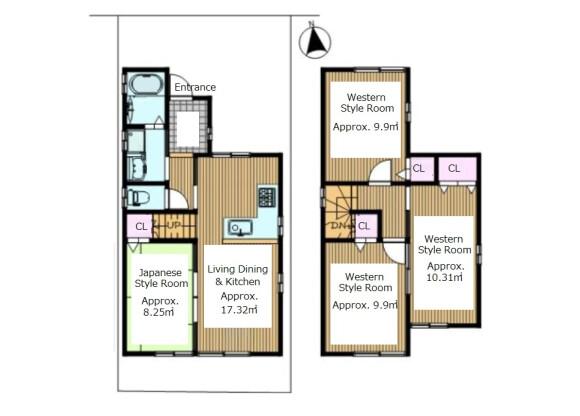 4SLDK House to Buy in Kyoto-shi Sakyo-ku Floorplan