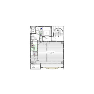 1K Mansion in Katamachi - Osaka-shi Miyakojima-ku Floorplan