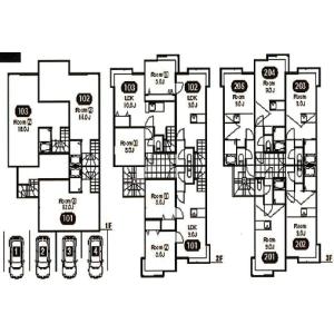 Whole Building {building type} in Kita46-johigashi - Sapporo-shi Higashi-ku Floorplan