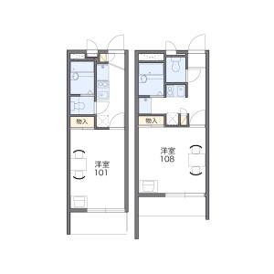 1K Mansion in Shitanoyacho - Yokohama-shi Tsurumi-ku Floorplan
