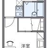 在奈良市內租賃1K 公寓 的房產 房間格局
