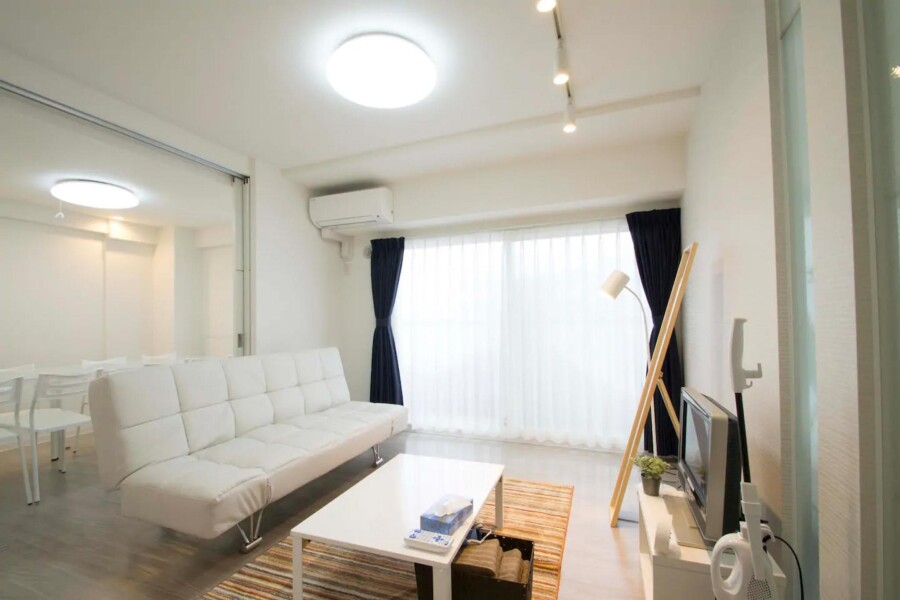 3LDK Apartment to Rent in Sapporo-shi Chuo-ku Living Room