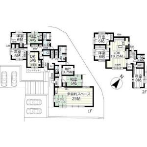 7SLDK {building type} in Shizuichi nonakacho - Kyoto-shi Sakyo-ku Floorplan
