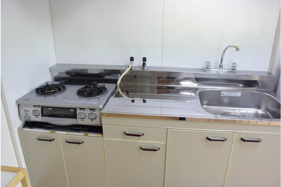 2DK Apartment to Rent in Osaka-shi Sumiyoshi-ku Kitchen