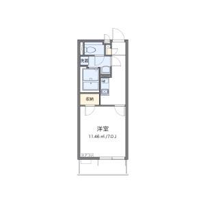 1K Mansion in Junocho - Saitama-shi Omiya-ku Floorplan
