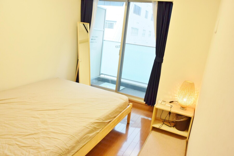 1LDK Apartment to Rent in Osaka-shi Chuo-ku Bedroom
