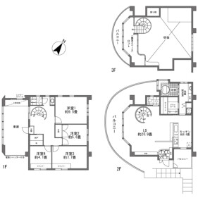 4LDK {building type} in Nagura - Ishigaki-shi Floorplan