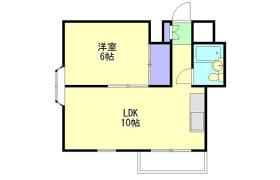 1LDK Mansion in Tsunashimahigashi - Yokohama-shi Kohoku-ku