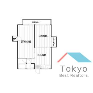 2K Mansion in Matsugaoka - Nakano-ku Floorplan
