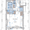 1K Apartment to Buy in Koto-ku Floorplan