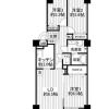 3LDK Apartment to Buy in Tachikawa-shi Floorplan