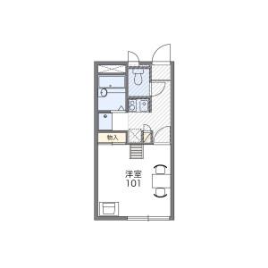 1K Apartment in Tozuka - Kawaguchi-shi Floorplan