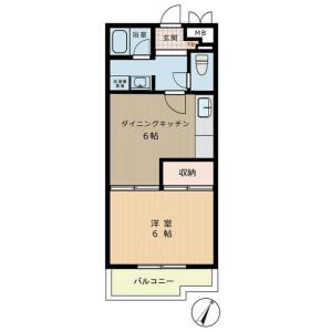 1DK Mansion in Ikebukuro (2-4-chome) - Toshima-ku Floorplan