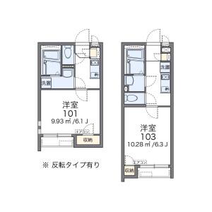 1K Apartment in Kamiochiai - Shinjuku-ku Floorplan