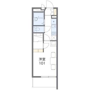 1K Mansion in Minamisakurazuka - Toyonaka-shi Floorplan