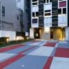 1K Apartment to Rent in Shinjuku-ku Building Entrance