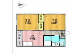2DK Apartment in Miharudai - Yokohama-shi Minami-ku
