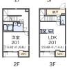 1LDK Apartment to Rent in Sumida-ku Floorplan
