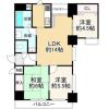 3LDK Apartment to Buy in Kyoto-shi Nakagyo-ku Floorplan